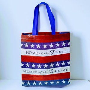 Reusable Shopping Bag Tote New Home Of The Free